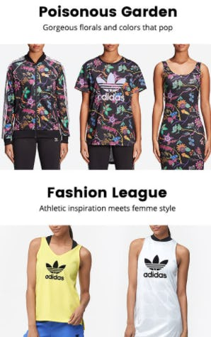 New Collections from adidas Originals from Lady Foot Locker