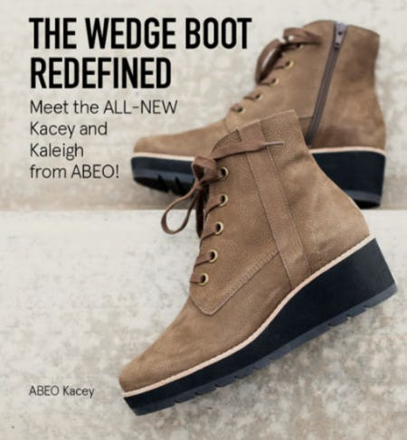 The Wedge Boot Redefined from The Walking Company