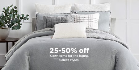 25-50% Off Cozy Items for the Home