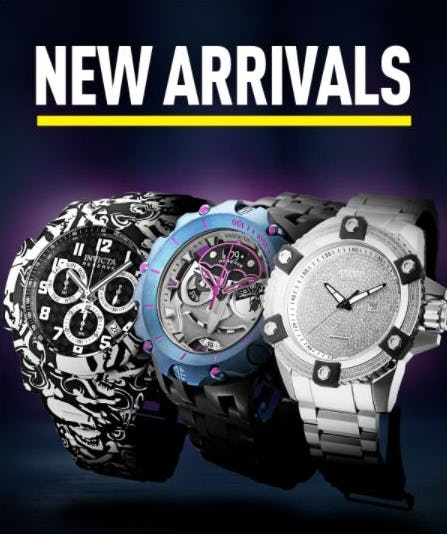 New Arrivals Are Here from Invicta