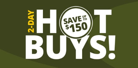 Hot Buys: Save Up to $150 from Cabela's