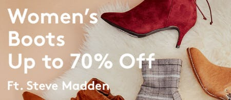 514c3d8b80a Sale at Nordstrom Rack. Up to 70% Off Women s Boots