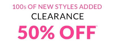 Clearance 50% Off from The Children's Place