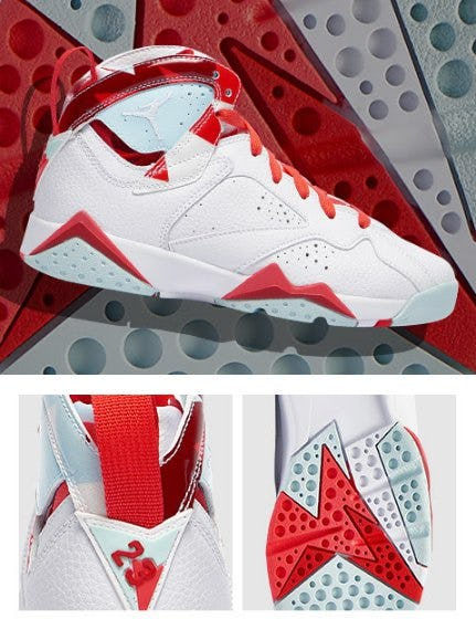 Jordan Retro 7 'Topaz Mist' from Kids Foot Locker