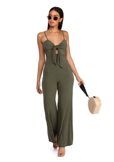 Tied Best in Class Jumpsuit