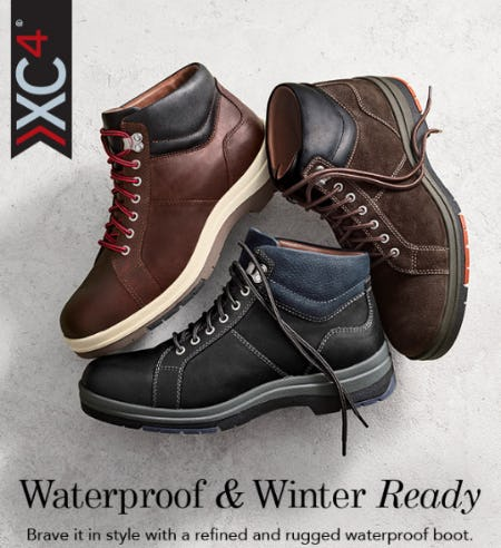 Waterproof & Winter Ready from JOHNSTON & MURPHY
