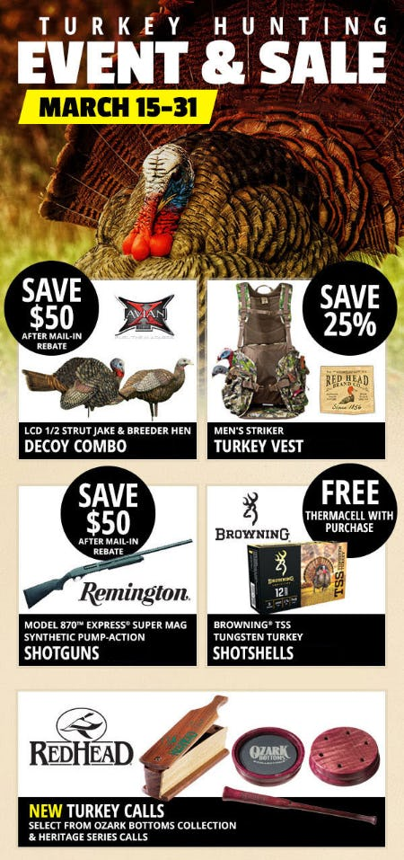 Turkey Hunting Event & Sale