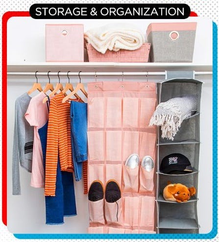 Tons of Storage & Organization from Five Below