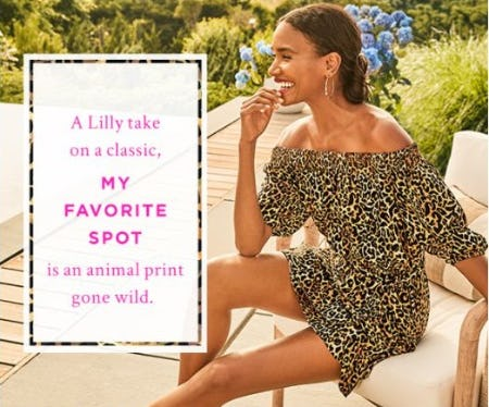 Print Spotlight: My Favorite Spot from Lilly Pulitzer