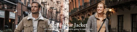Grab Your Jacket from Abercrombie & Fitch
