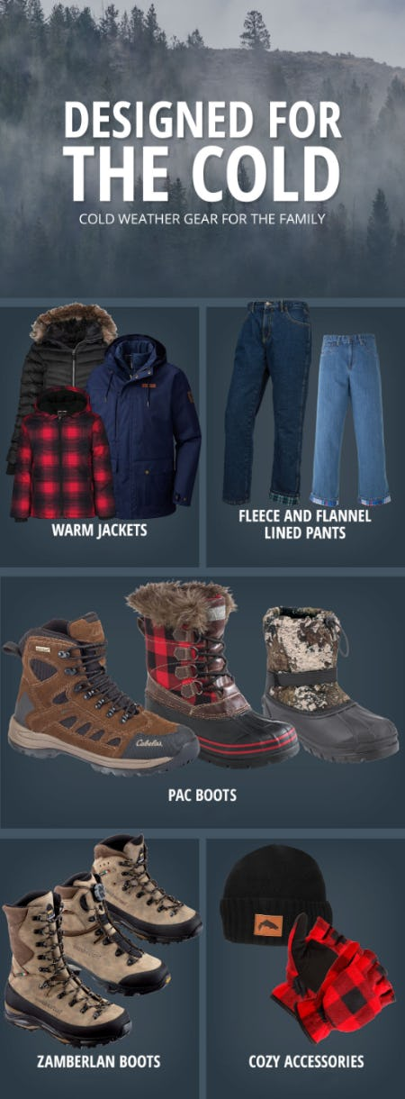 Cold Weather Gear for the Family from Cabela's