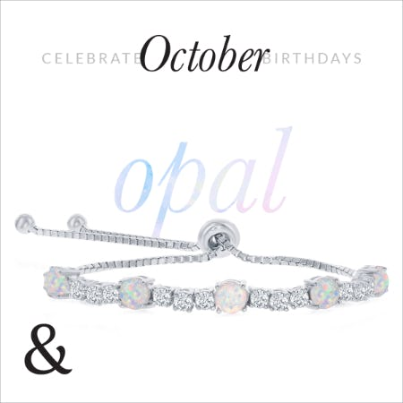 30% Off: October Opal Birthstone Jewelry Sale from Ashcroft & Oak Jewelers