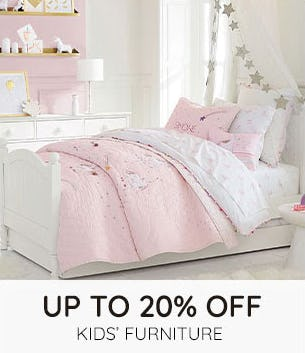 Up to 20% Off on Kids' Furniture from Pottery Barn Kids