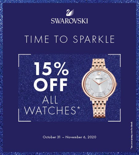 Swarovski Watch Lovers Week! from Swarovski