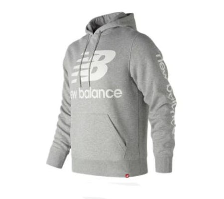 Essentials NB Logo Hoodie from New Balance