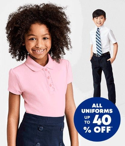 All Uniforms up to 40% Off