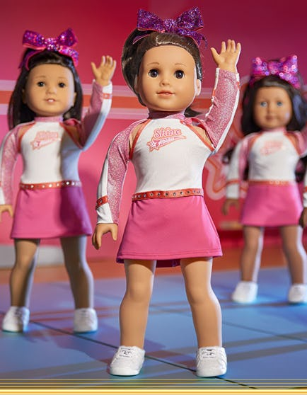 Hit The Cheer Gym with Joss from American Girl