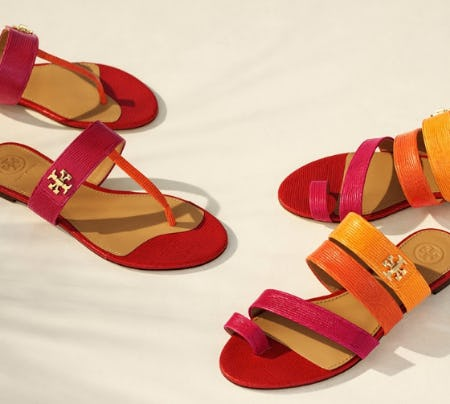 Introducing the Kira Sandal from Tory Burch