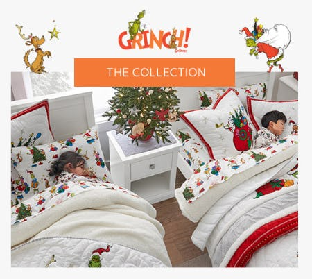 Our Exclusive Grinch Collection from Pottery Barn Kids