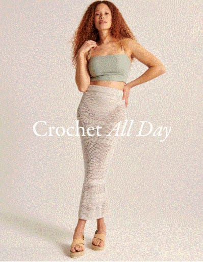 Crochet All Day from Abercrombie & Fitch