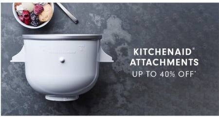 KitchenAid Attachments up to 40% Off from Williams-Sonoma