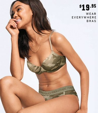 $19.95 Wear Everywhere Bras from Victoria's Secret