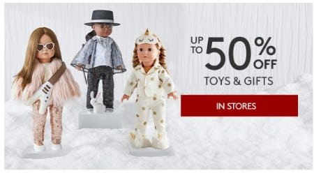 Up to 50% Off Toys & Gifts from Pottery Barn Kids