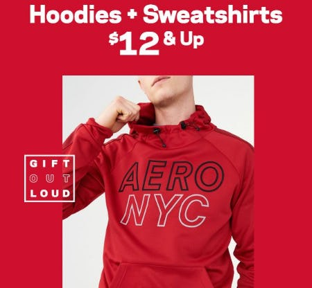 Hoodies & Sweatshirts $12 & Up from Aéropostale