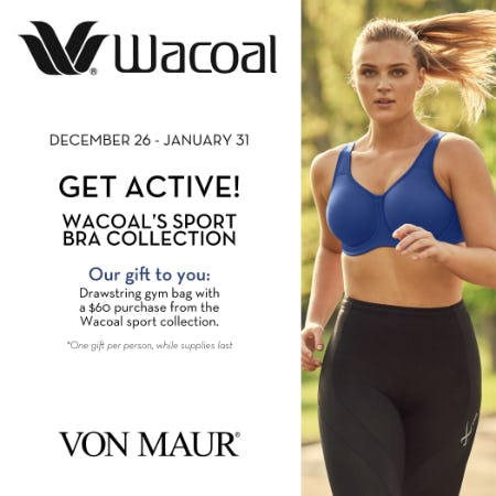 Wacoal Gift with Purchase from Von Maur