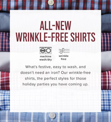 All-New Wrinkle-Free Shirts from UNTUCKit