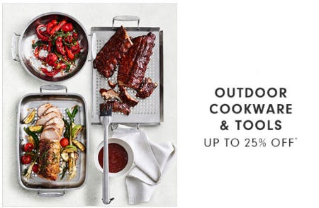 Up to 25% Off Outdoor Cookware & Tools from Williams-Sonoma
