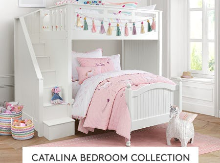 The Catalina Bedroom Collection from Pottery Barn Kids