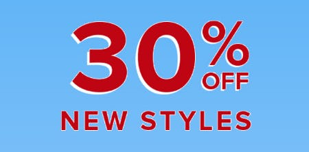 30% Off New Styles from Fashion To Figure