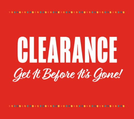 Huge Clearance Event