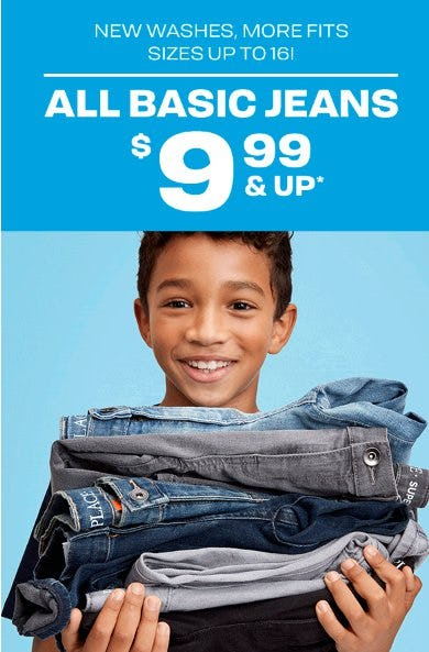 All Basic Jeans $9.99 & Up