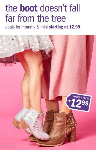 $12.99 Women's Boots from Gordmans
