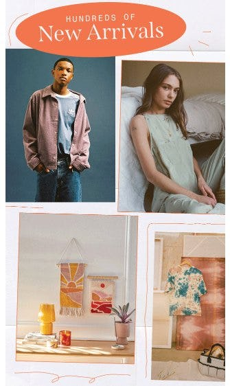 Shop Hundreds of New Arrivals from Urban Outfitters