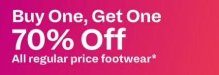 BOGO 70% Off Footwear from Call It Spring