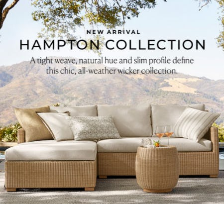New Arrival: Hampton Collection from Pottery Barn