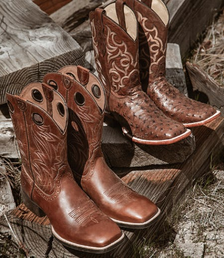 Genuine-Leather Boots Soft as Silk from Boot Barn
