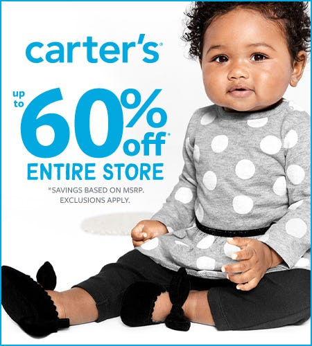 Fall In Love- Up to 60% Off Layer Up from Carter's