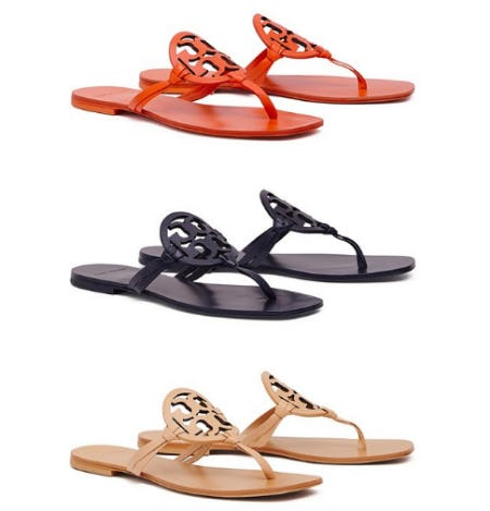 dcc16353134 The Miller Sandal  New Colors at Tory Burch
