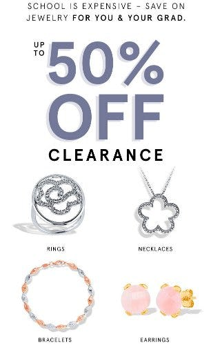 a5dbea47d Up to 50% Off Clearance at Kay Jewelers | Park City Center