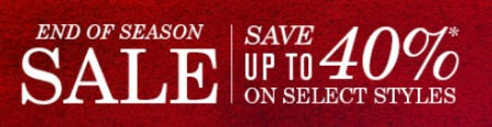 Save Up to 40% Off on Select Styles from JOHNSTON & MURPHY