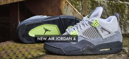 New Air Jordan 4 from EbLens Clothing and Footwear