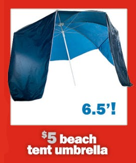 5 Beach Tent Umbrella At Five Below Brass Mill Center
