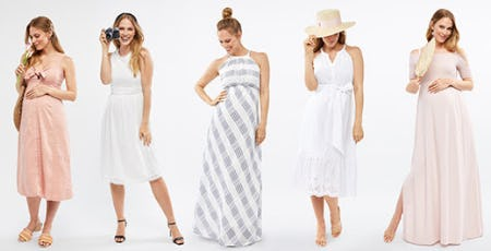 Lush Summer Styles from A Pea In The Pod, Maternity Redefined