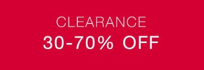 Clearance 30-70% Off