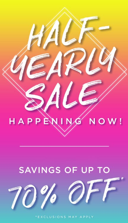 Up to 70% Off Half - Yearly Sale from PAPYRUS