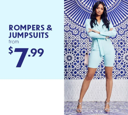 Rompers & Jumpsuits From $7.99 from Rainbow